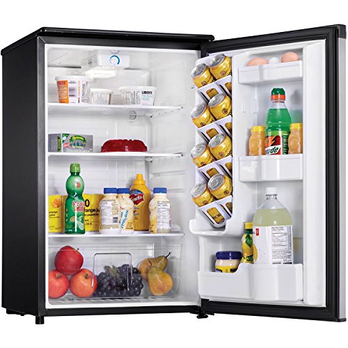 Danby DAR044A5BSLDD Compact Refrigerator, Spotless Steel Door, 4.4 Cubic Feet by Danby (Image #4)