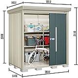 タクボ物置 ND/ストックマン ND-1814 一般型 標準屋根 『屋外用中型・大型物置』 ジェイドグレー
