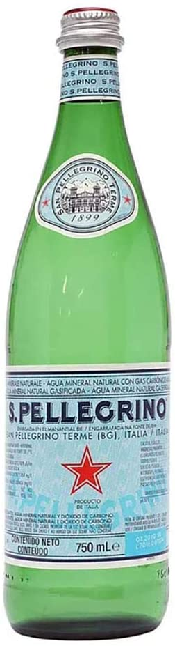 Água Mineral San Pellegrino Com Gás 750 ml por San Pellegrino