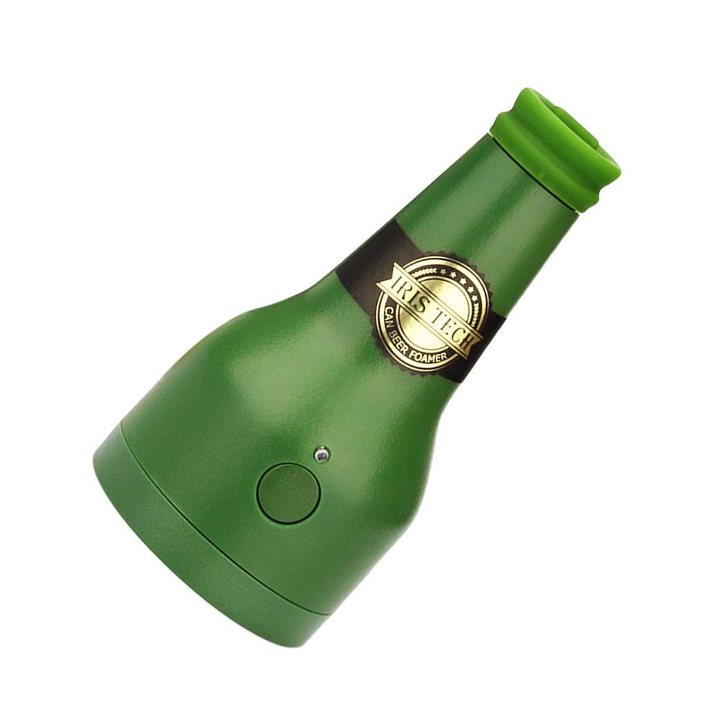 IPOTCH Dispensador de Servidor Bubbler Cerveza Fabricante de Espuma Portátil para Conservada Cómodo - Verde: Amazon.es: Hogar