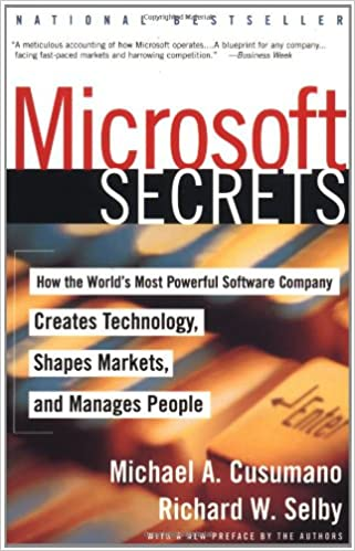 microsoft secrets how the world s most powerful software company