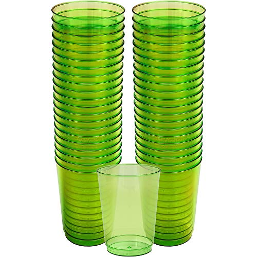 Kiwi Green Plastic Cup Big Party Pack, 10 Oz., 72 Ct.