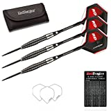Red Dragon Lethal Magic 3: 28g - 85% Tungsten Steel Darts with Flights, Shafts, Wallet & Red Dragon Checkout Card
