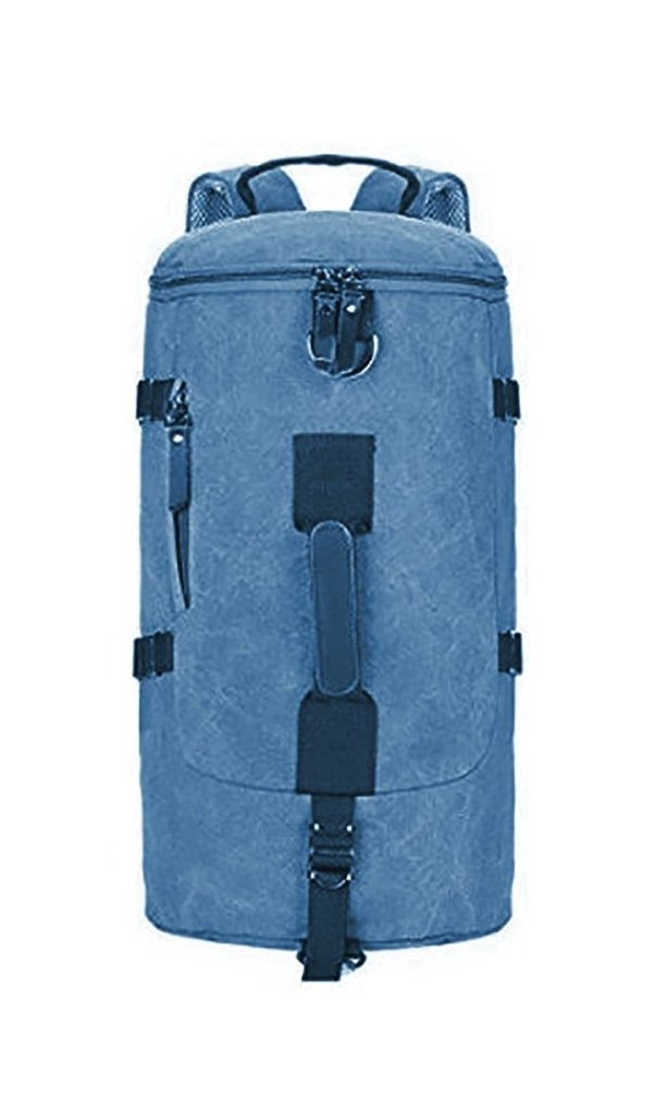 Styleys Unisex Canvas Travel Duffle Bag (Blue)  Amazon.in  Bags ... a0006eb208f25