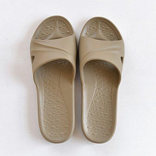 in coppie morbidi pantofole scheda e sono bagno freschi 42 bagni fankou leggero interno femmina 43 la sua home cool sandali estate antiscivolo minimalista qYtTgw