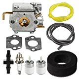 Harbot 753-05133 Carburetor with Air Fuel Filter Line for Troy Bilt TB20CS TB20DS TB10CS TB70FH TB70SS TB90BC TB65SS Yard Man YM20CS YM70SS YM90BC Y780 WH80BC MS2550SE MS2560SE WH25CS String Trimmer
