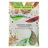 Splendor Garden organic Cardamom Ground,20.0 Gram
