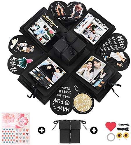 UK Surprise Explosion Box Creative Birthday Xmas Gift Photo Album Scrapbook DIY