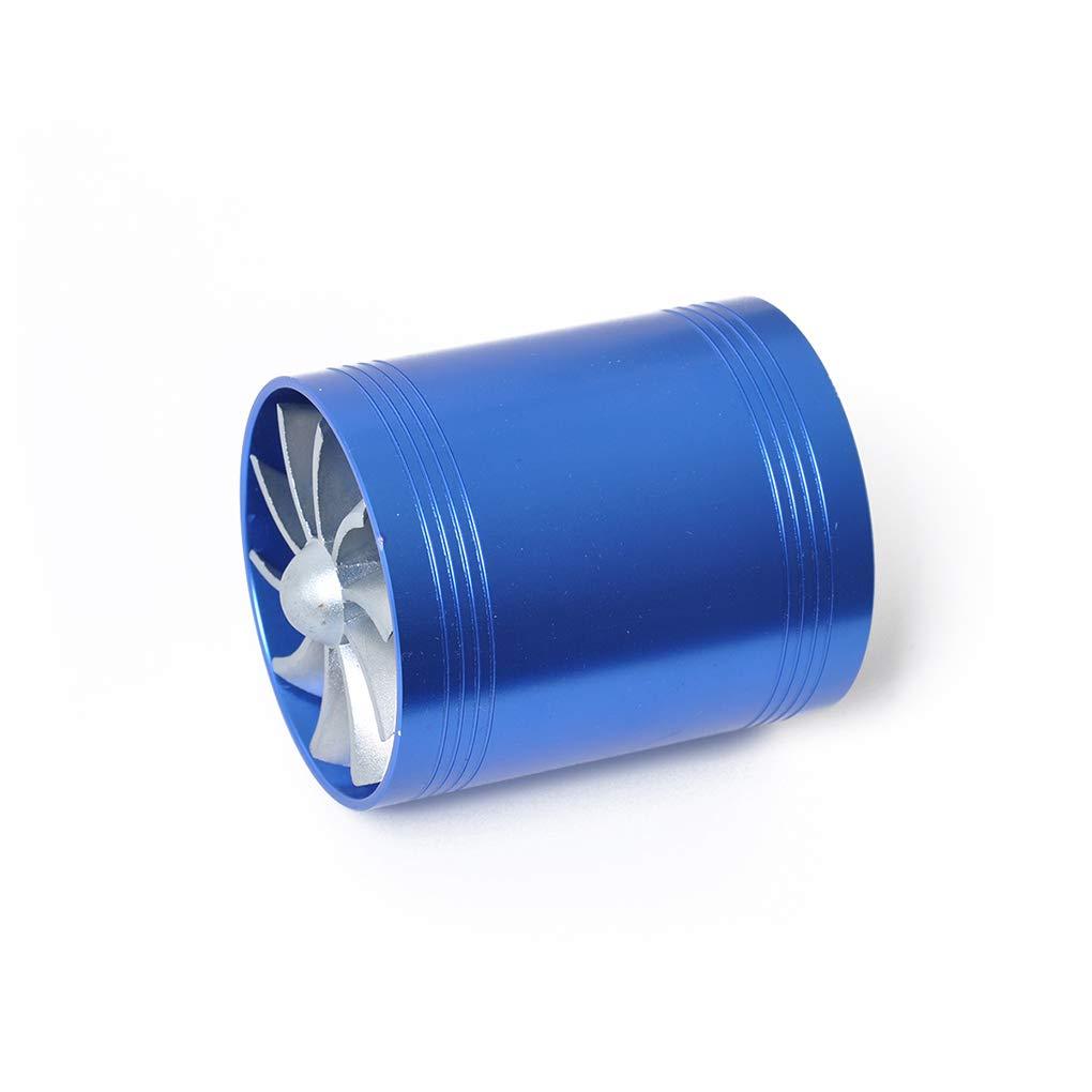 Babysbreath17 Universal-3 Turbo Cold Air Intake Hose Doppelventilator Turbonator Brenngas-Retter Auto Kompressor Schlauchschelle