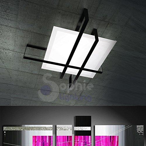 SOPHIE LIGHTING CRUX PLM NE Ceiling Lamp, Satin Glass minimal Modern ...