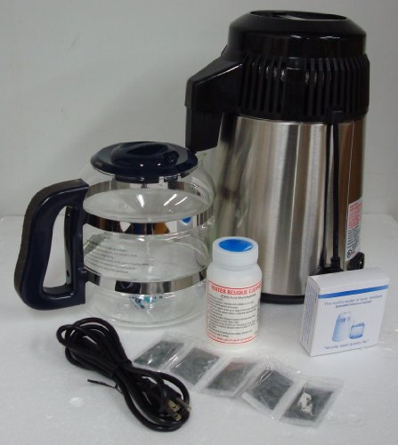Megahome Countertop Water Distiller Stainless, Glass Collection by MegaHome (Image #4)