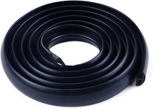 1x Universal Car Ageing Rubber Seal Under Front Windshield Panel Sealed Strips