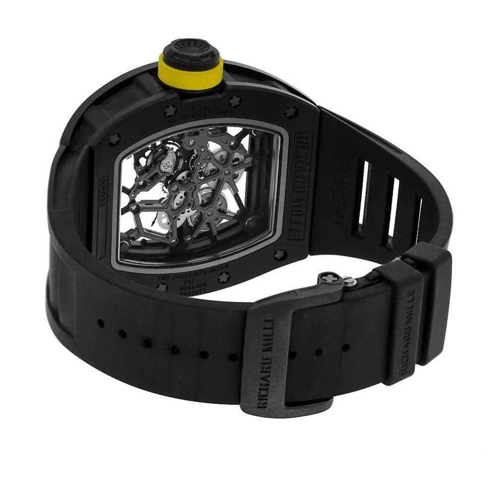 Richard Mille RM 035 RM035 - Reloj mecánico de Cuerda Manual para Hombre: Richard Mille: Amazon.es: Relojes