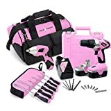 Pink Power 18V Cordless Drill Driver & Electric Screwdriver Combo Kit with Tool Bag Review