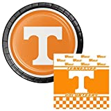 Tennessee Volunteers Lunch Plates & Napkins Party Kit for 8