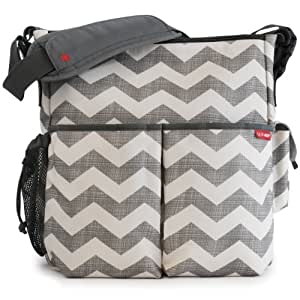 skip hop duo essential diaper bag chevron discontinued by manufacturer baby. Black Bedroom Furniture Sets. Home Design Ideas