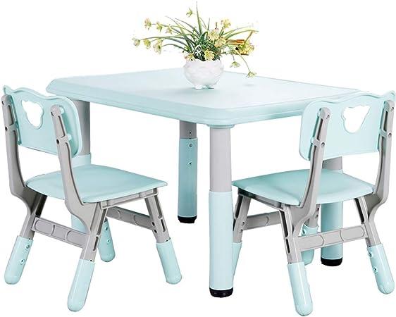 Juegos de mesas y sillas Juego de Mesa y Silla para niños Jardín de Infantes Puede