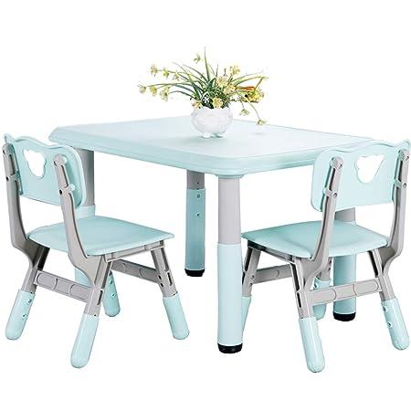 Juegos de mesas y sillas Juego de Mesa y Silla para niños Jardín ...