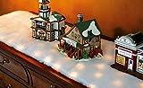 """46 1/2"""" Winter Wonderland LED Lighted Snow Table Runner"""