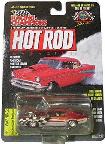 (Racing Champions Hot Rod Magazine - Issue #58 - '69 Pontiac GTO)