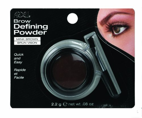 Ardell Brow Defining Powder, Mink Brown, 0.08-Ounce (Pack of 3)