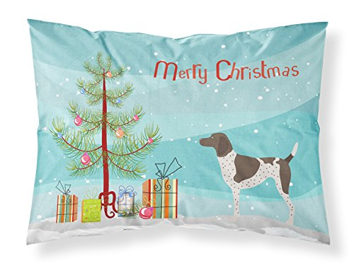 Caroline's Treasures German Shorthaired Pointer Christmas Pillowcase, Standard, Multicolor from Caroline's Treasures