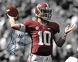 A. J. A J McCarron Signed Autographed Auto Alabama Crimson Tide 8x10 Photo - Proof