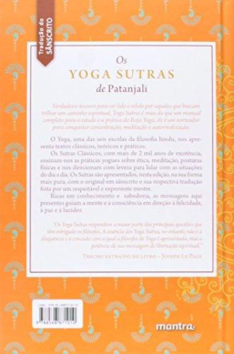 Os Yoga Sutras de Patanjali. Texto Clássico Fundamental do Sistema Filosófico do Yoga