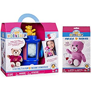 Build-A-Bear Workshop Stuffing Station and Pink Bear Refill Pack 2 Piece Bundle - 51IwOWOibPL - Build-A-Bear Workshop Stuffing Station and Pink Bear Refill Pack 2 Piece Bundle