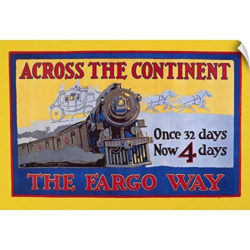- CANVAS ON DEMAND Wells Fargo Express, 1915