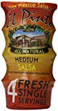 El Pinto - Medium Salsa Portion Cups (3 oz, 4 Pack) New Mexico Hatch Chile