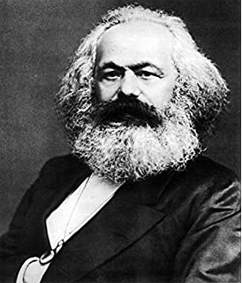 Amazon.com: Karl Marx Art Print 'Hope' - 12x8 High Quality ...