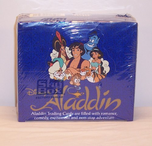 Aladdin Trading Cards Box -36 Count by Disney -  Skybox, 4667850