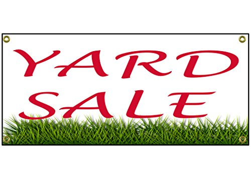 Yard Sale Banner Retail Store Home Shop Business Sign 36