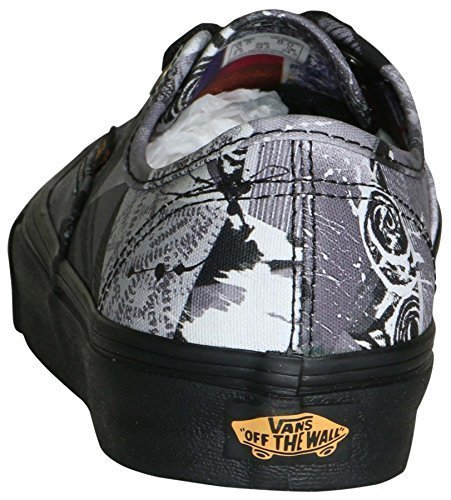 Vans Unisex Old Skool Abstract Skate Shoes-Abstract/Black-9.5-Women/8-Men