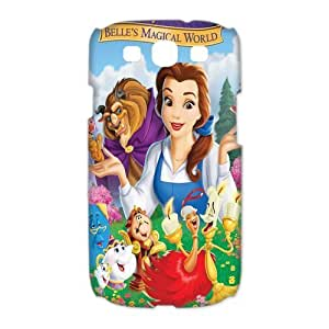 Mystic Zone Beauty and The Beast Samsung Galaxy S3 Case for Samsung Galaxy S3 Hard Cover Cartoon Fits Case HH0395