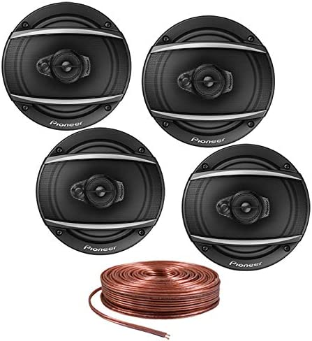 """Pioneer TS-A1670F 320 Watts A-Series 6.5/"""" 3-Way Coaxial Car Audio Speakers New"""
