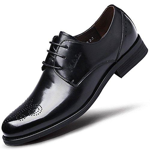 Hommes Classique Derbies Formelle Cuir Derby Bout Pointu Entreprise Chaussures