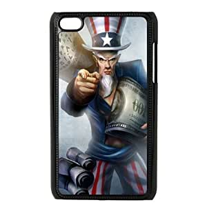 iPod Touch 4 Case Black League of Legends Uncle Ryze SH3810263