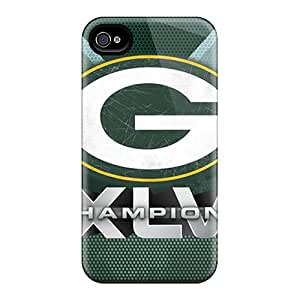 Iphone 6plus MCM14956Jvfn Provide Private Custom Vivid Green Bay Packers Pattern Perfect Cell-phone Hard Cover -KellyLast