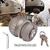 Coupler Lock Trailer Parts Zinc Die Cast Coupler Lock Universal Coupling for Tow Caravan