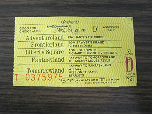 disney magic kingdom tickets - 1
