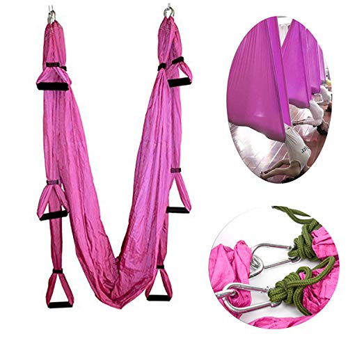 Amazon.com : Yaegoo Aerial Yoga Swing Set - Yoga Hammock ...