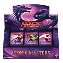 Magic the Gathering: Iconic Masters Sealed Booster Box - 24 Booster Packs MTG