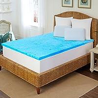ARCTIC Sleep by Pure Rest 5 Zone Marbleized Gel Memory Foam Topper - K
