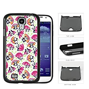 Baby Panda Playing With Umbrella And Bamboo Hard Plastic Snap On Cell Phone Case Samsung Galaxy S4 SIV I9500
