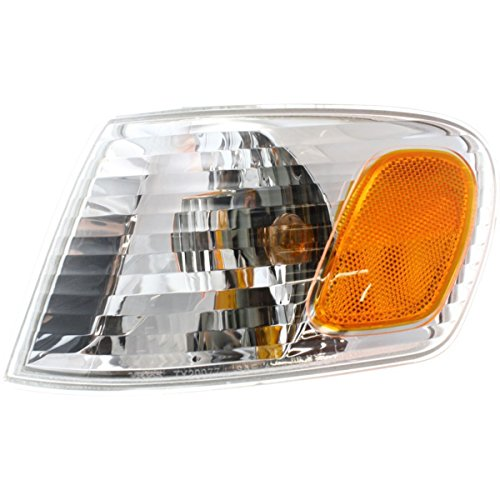 02 Corner Signal Light - DAT AUTO PARTS Front Signal Light Assembly Replacement for 01-02 Toyota Corolla Corner of Fender Left Driver Side TO2530137