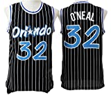 Men's Adult #32 Shaquille O'Neal Jersey Black