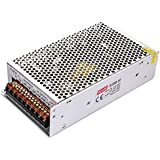 Switching Power Supply,DC 12V 20A LED Power Supply Universal Regulated Transformer 240W Adapter Led Strip Lights, CCTV, Radio, Computer Project