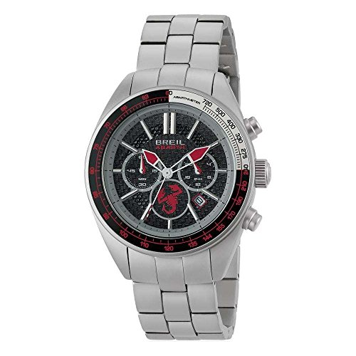 BREIL Watch ABARTH Male Chronograph Black-Red Stainless steel - TW1692